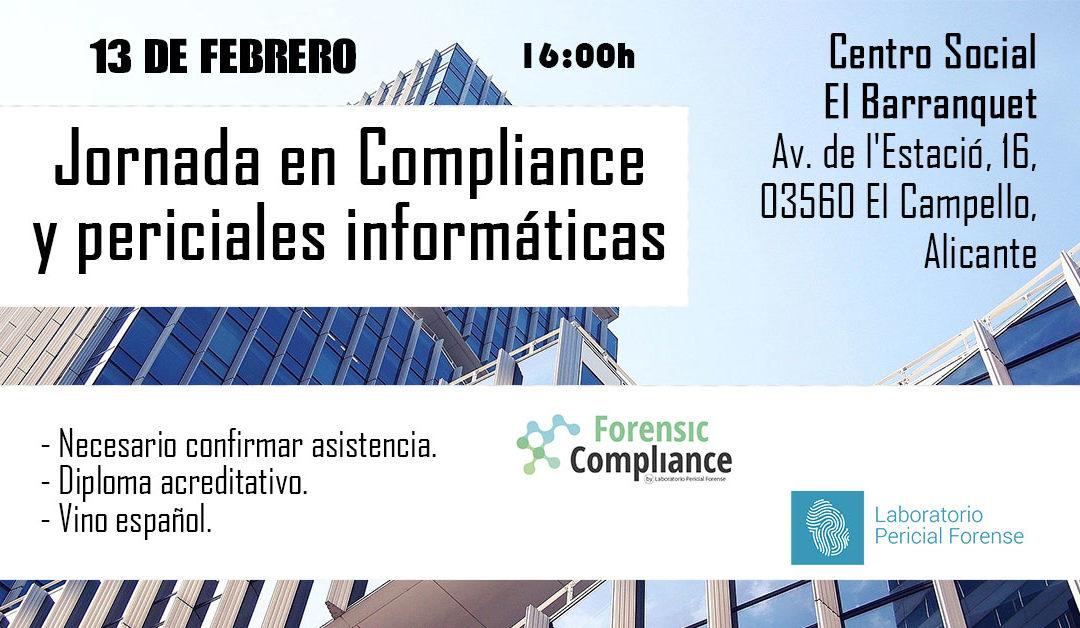 Jornada de Compliance y periciales informáticas